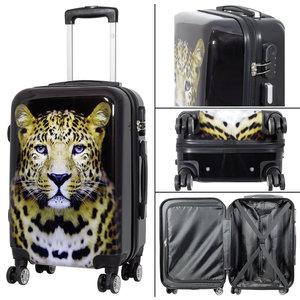 travelsuitcase koffer Leopard 58cm