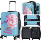 travelsuitcase koffers Rose
