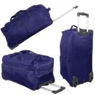 travelsuitcase trolleytas Brooklyn Blauw