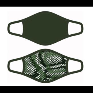 Beeren mondkapjes heren polykatoen zwart maat M 2 stuks - Copy