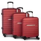 Fabrizio Runway kofferset 36/61/96 liter rood 3-delig