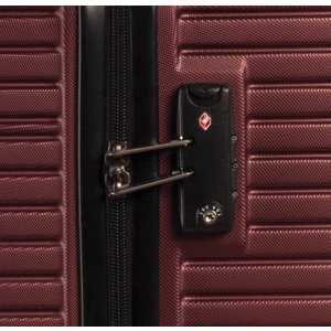 Fabrizio Breeze kofferset 36/61/96 liter zwart 3-delig