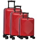 Fabrizio kofferset 37/60/98 liter rood
