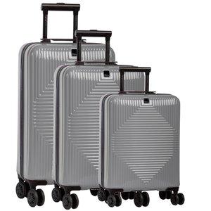 Fabrizio kofferset 37/60/98 liter Grijs