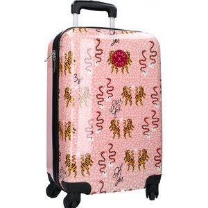 Milky Kiss koffer En Route 38 liter polyester roze