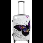 travelsuitcase reiskoffer Butterfly 67cm