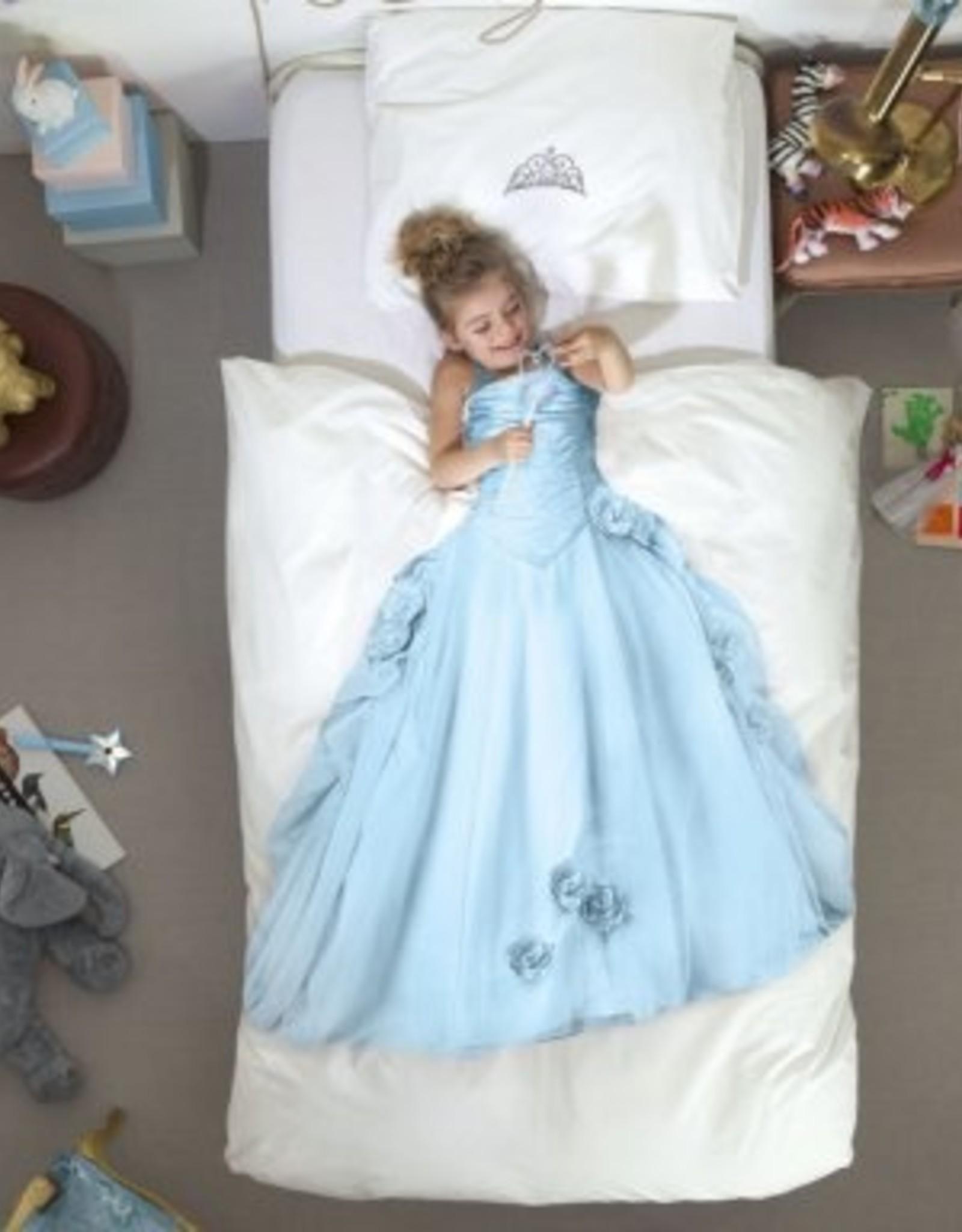 Snurk Dekbedovertrek Snurk Princess Blue