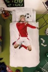 Snurk Dekbedovertrek Snurk Soccer Champ Red