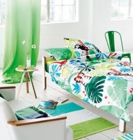 Designers Guild Dekbedovertrek Designers Guild Jungle Playtime