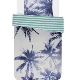 Covers & Co Dekbedovertrek Covers & Co Palmera Blue