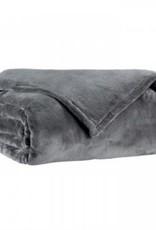 Sleepconsult Plaid Micro 150 x 200 cm, Anthracite