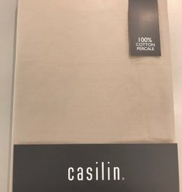 Casilin Hoeslaken Royal Percale, wit