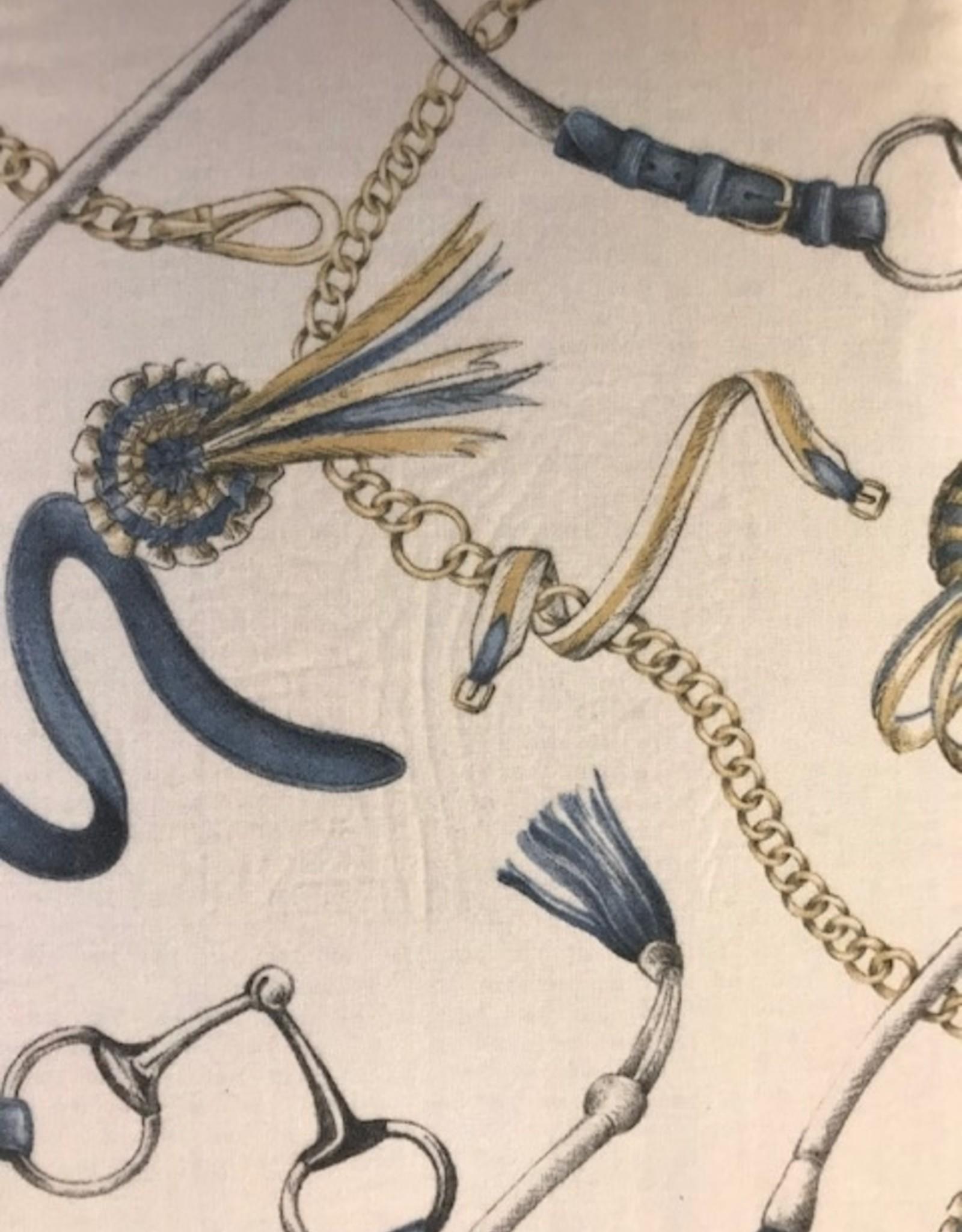 Mirabello Dekbedovertrek Mirabello Dressage Cobalt Flanel