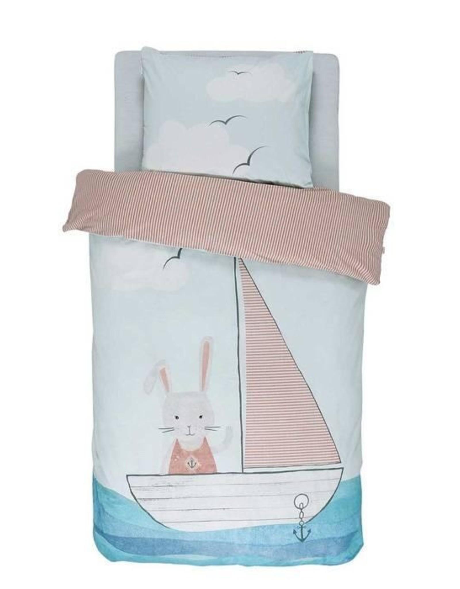 Covers & Co Kinderdekbedovertrek Covers & Co Ahoy Blue 120 x 150 cm