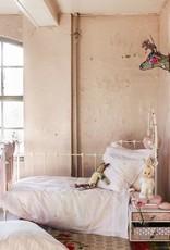 Stapelgoed Kinderdekbedovertrek Stapelgoed Flower Fields Pink 100 x 140 cm