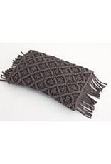 Flamant Sierkussen Flamant Knitted Charcoal