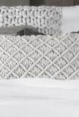 Flamant Sierkussen Flamant Knitted Licht Grijs