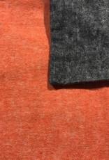 Sognoblu Dekbedovertrek Sognoblu Flanel Reversibile Black/Orange
