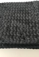 Essenza Plaid Faya 150 x 200 cm, black