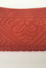 Vivaraise Decoratiemat/badmat Enzo 110 x 54 cm - Terracotta