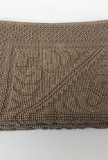 Vivaraise Decoratiemat/badmat Enzo 110 x 54 cm - Taupe