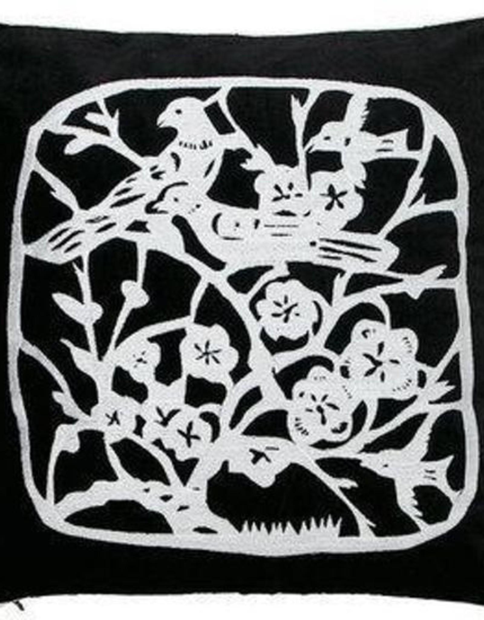 Auping Sierkussen Auping Blackbirds 40 x 40cm