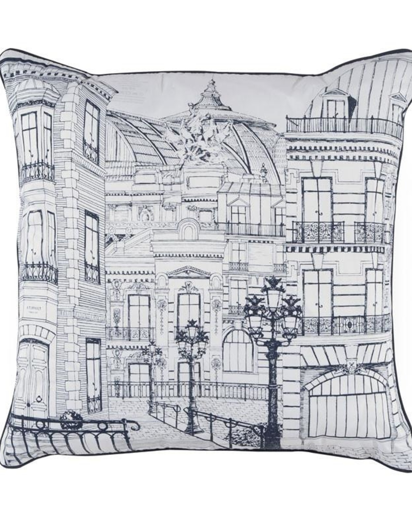 Alexandre Turpault Sierkussen Alexandre Turpault Metropole 50 x 50cm