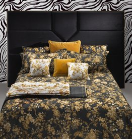 Roberto Cavalli Dekbedovertrek Roberto Cavalli China Birds Gold/Black