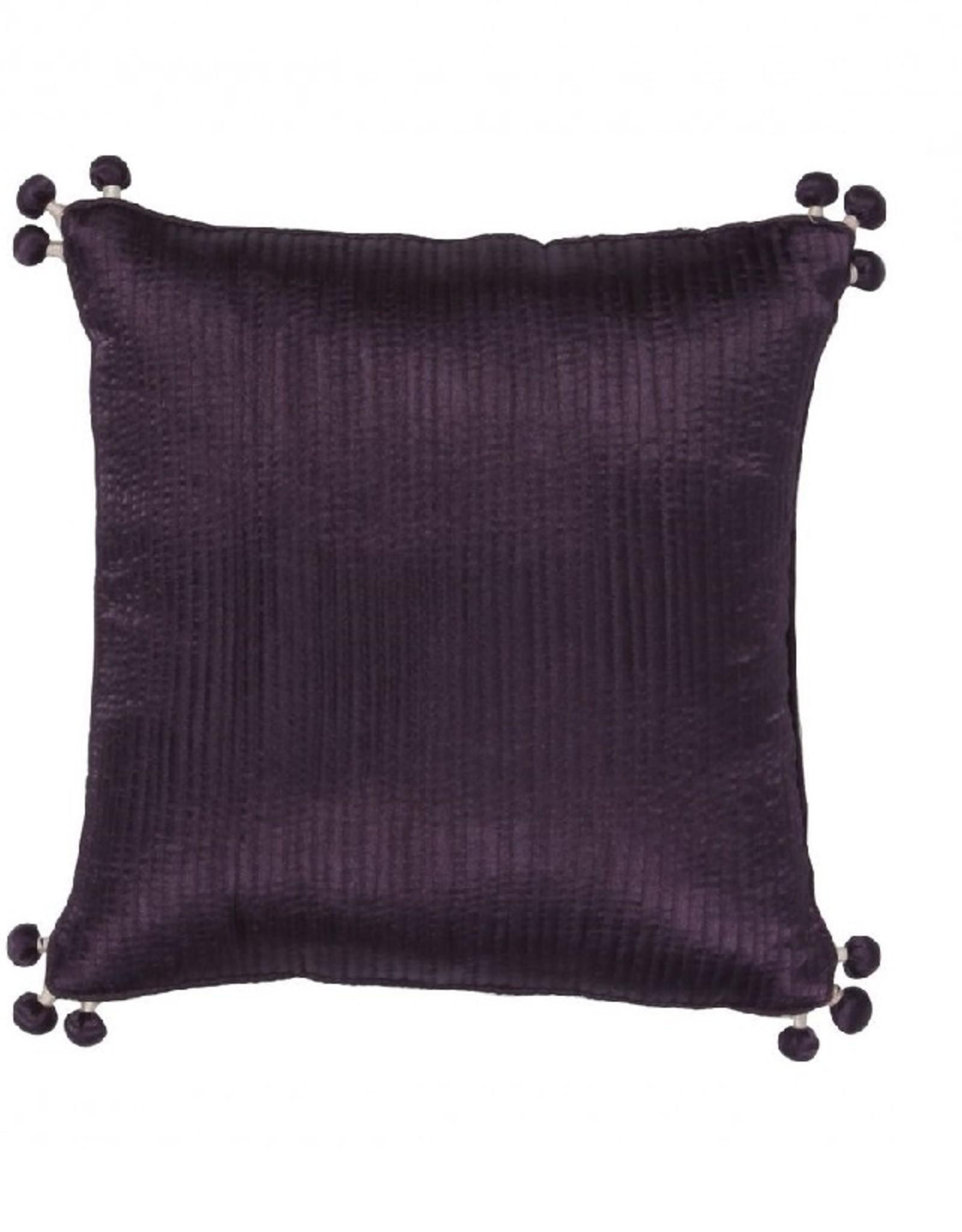 Vivaraise Sierkussen Falbala violette 30/30