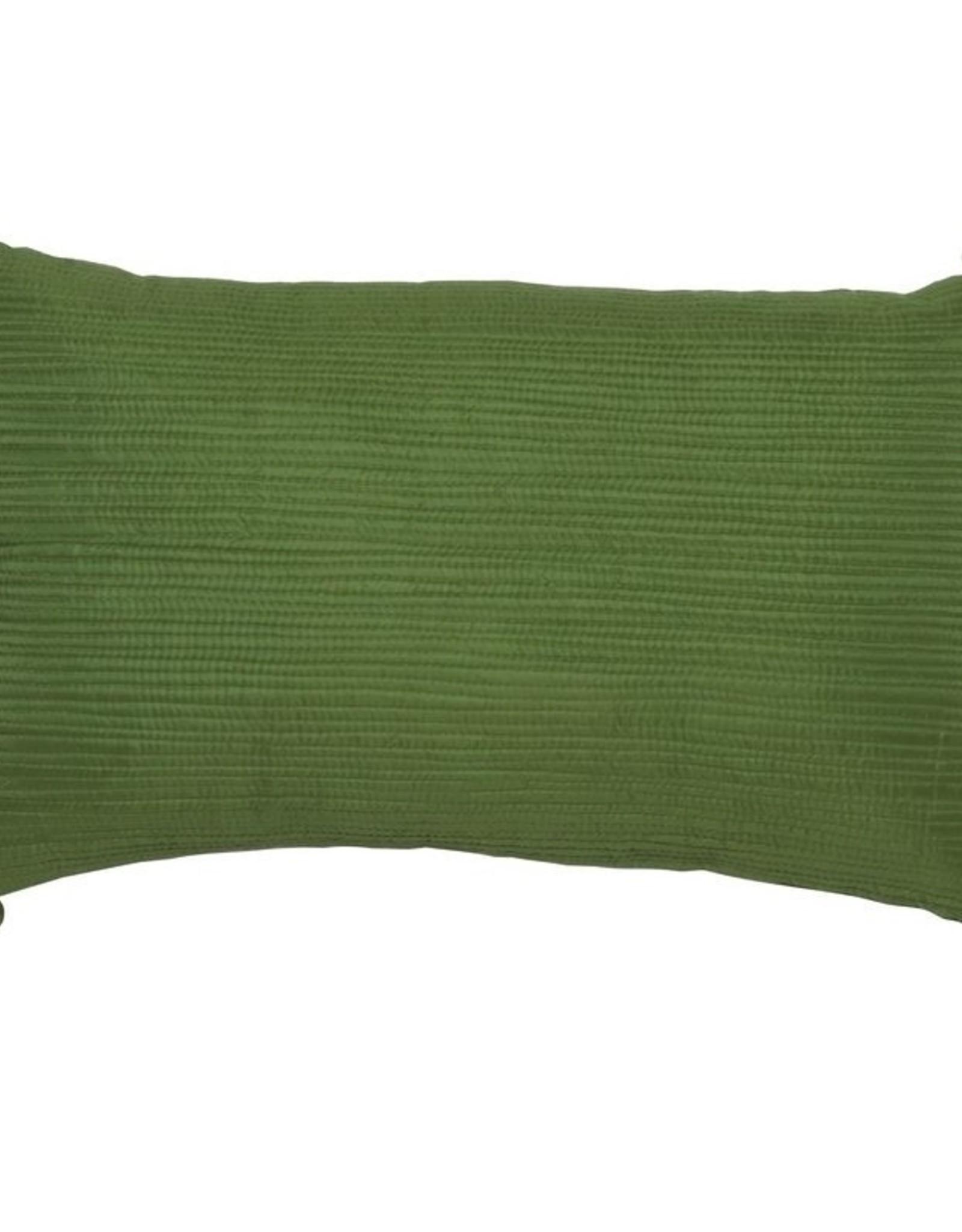 Vivaraise Sierkussen Falbala bambou 30/50