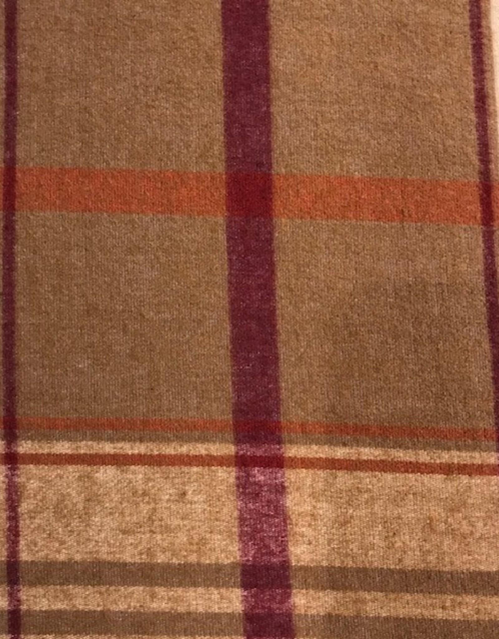 Sognoblu Dekbedovertrek Sognoblu Flanel Artico Brown/Bordeaux