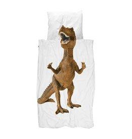Snurk Dekbedovertrek Snurk Dino Brown