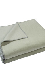 Zoeppritz Plaid Zoeppritz Soft Fleece, Milky Green, kleur 620