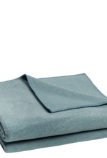 Zoeppritz Plaid Zoeppritz Soft Fleece, Denim, kleur 545