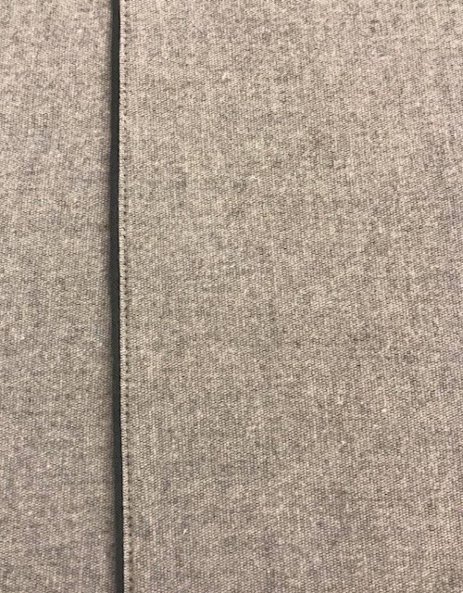 Sognoblu Lakenset Sognoblu Flanel Profilo Medium Grey