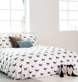 Snurk Dekbedovertrek Snurk Black Horses