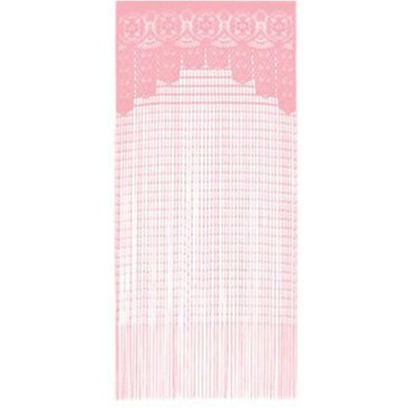 Present Time 1001 Nights Curtain String - Gordijn - Roze 90x200 cm
