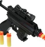Banzaa Speelgoed Pistool Duo Play set 2 stuks – voor Zachte Kogels en Darts – Soft Bullet Gun 16cm – Schiet Speelgoed – Soldier Combat