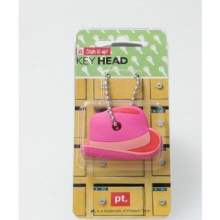 Present Time Sleutel Cover Cowboy Hoed 2 Stuks – Sleutelhoes – Roze