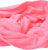 BDO BDO Loop Sjaal Van Viscose – Ronde Shawl 80x170cm – Fluorescerend Roze