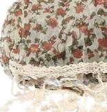 Banzaa Sjaal Rozen Franjes van Viscose – Nette Elegante Shawl 65x180cm – Gehaakte Franje Roosjes