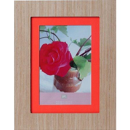 Present Time Present Time Fotolijst Savannah 19x24cm – Fotomaat 13x18cm – Hout – Muurdecoratie