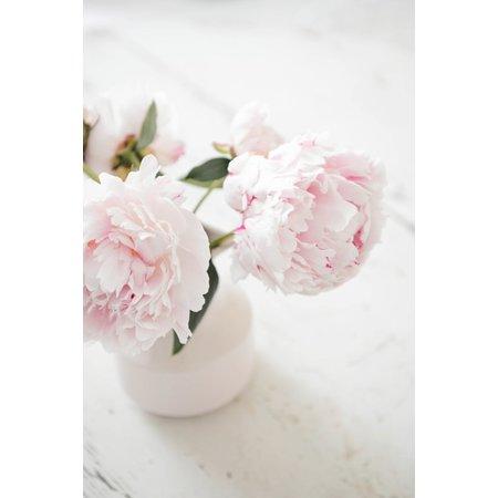 Present Time Present Time Waterkan Jug Fifty 600ml – Melkkannetje 15cm – Vaas voor Bloemen – Disigned By Box32–Decoratief Vaasje voor op de Vensterbank – Gebroken Wit