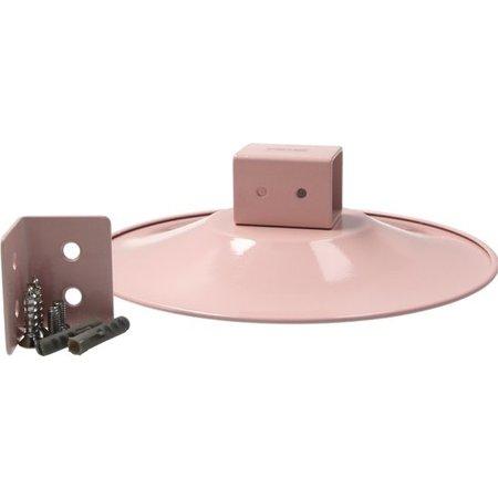 Present Time Present Time Kapstok Soucer Rond 15cm – Eenvoudige Montage – Geschikt voor 2 Jassen – Coat Hanger – Lichtroze