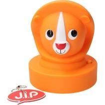 Jip Dieren Lamp Leeuw Oranje