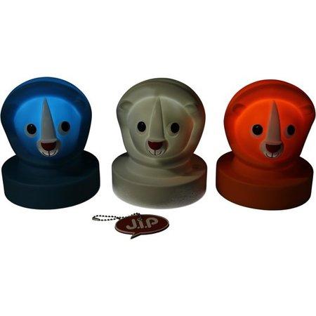 J.I.P Jip Dieren Lamp Leeuw – Nachtlampje voor Kinderen 15cm – Nachtverlichting Jongens en Meisjes – Oranje