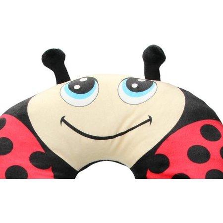 Van der Meulen Nekkussen voor Volwassenen en Kinderen – Reis – Autokussen – Lieveheersbeestje