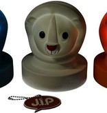 J.I.P Jip Dieren Lamp Leeuw – Nachtlampje voor Kinderen 15cm – Nachtverlichting Jongens en Meisjes – Blauw
