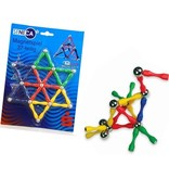 Banzaa Magneetpuzzel 3D – 37 Delig Puzzel – Magnetisch Spel – Maak Vormen met Magneten