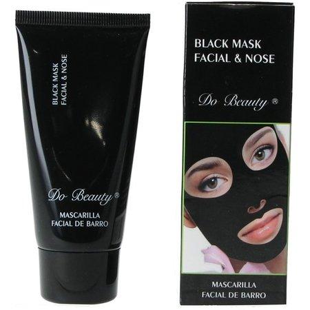 Do Beauty Do Beauty Black Mask voor Gezicht en Neus – Verwijderd Mee-eters – Schone Stralende Huid